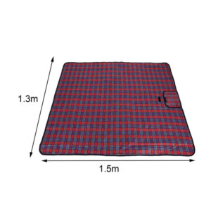1.5*1.3M Folding Camping Picnic BBQ Mat Practical Easy Clean Sleeping Mattress Sleeping Pad Waterproof Beach Outdoor Blanket