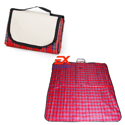 1 X Extra Large Waterproof Picnic Blanket Rug Travel Pet/Dog Caravan Camping Fleece ES1371