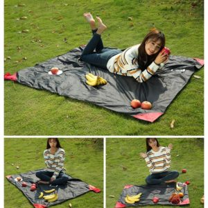 150*180cm Portable Folding Camping Picnic Beach Pad Waterproof Nylon Camping Mat tarpaulin baby play blanket amazing pocket mat