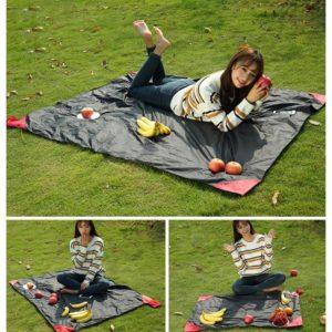 150*180cm Portable Folding Camping Picnic Beach Pad Waterproof Nylon Camping Mat tarpaulin baby play blanket amazing pocket mat