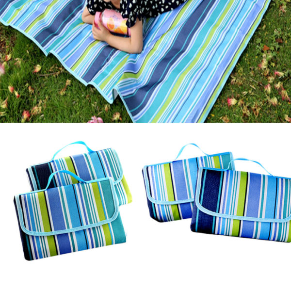 150x150cm Camping Mat Beach Picnic Mat Folding Outdoor Waterproof Oxford Cloth 600D Multiplayer Baby Crawling Blanket