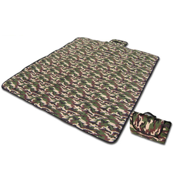 150x180cm Outdoor Waterproof Beach Blanket Foldable Picnic Blanket Camping Mat Climb Plaid Blanket Multiplayer Foldable Mat