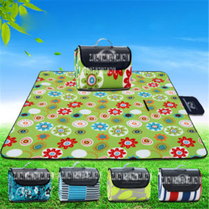 200*200cm Waterproof Foldable Outdoor Camping Mat Picnic Mat Plaid Beach Blanket Baby Climb Blanket Multiplayer Tourist Mat