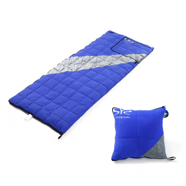 200*78cm Sleeping Bag Comfortable Goose Down Sleeping Bag Camping Multifunction Travel Bag White Duck Down