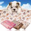 2017 Cute Warm Pet Mat Bed Puppy Blanket Mat Cat Cushion pet travel Mattress Pad Pet Supplies Drop Ship Free Shipping 2