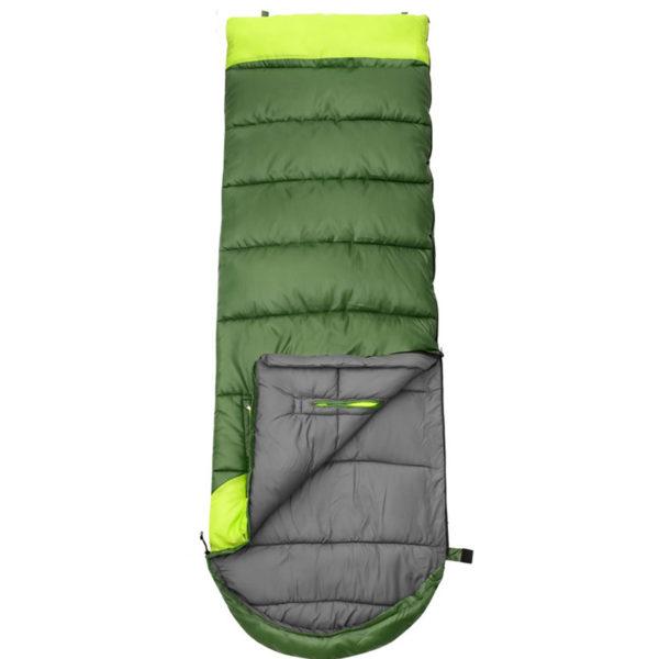 2018 Adults' 3 Season Hollow Cotton Splicing Sleeping Bags Outdoor Sports Thick Hiking Camping Climbing Warm Sleeping Bag VK023