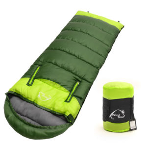 2018 Adults' 3 Season Hollow Cotton Splicing Sleeping Bags Outdoor Sports Thick Hiking Camping Climbing Warm Sleeping Bag VK023