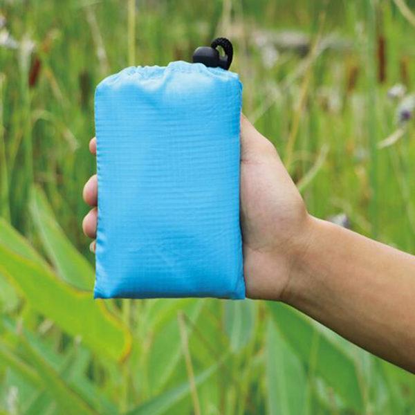 2018 Waterproof Portable Outdoor Picnic Mat Camping Mattress Beach Mat Picnic Blanket Tourist Blanket Travel Mini Folding Bed