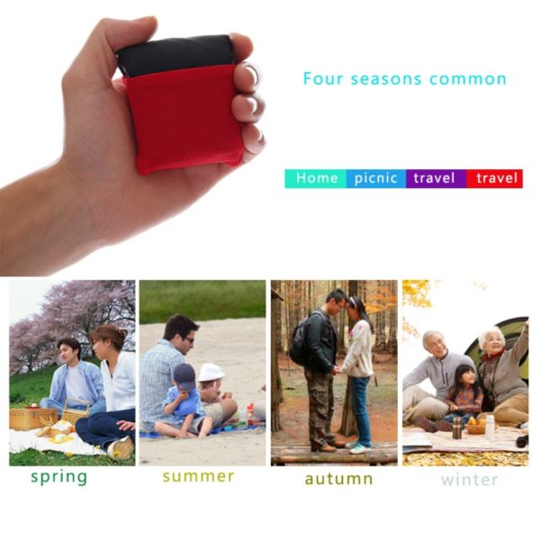 4 Colors Foldable Outdoor Camping Mat Portable Pocket Compact Moistureproof pad Blanket Waterproof Chair Picnic Mat