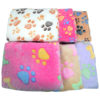 6 Colors Coral Fleece Warm Pet Sleeping Cushion Cover For Pet Dog Cat Puppy Bed Mat Cute Paw Printed Breathable Blanket Pet Dog 4