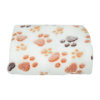 6 Colors Coral Fleece Warm Pet Sleeping Cushion Cover For Pet Dog Cat Puppy Bed Mat Cute Paw Printed Breathable Blanket Pet Dog 6