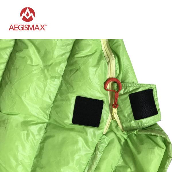AEGISMAX Outdoor Camping  Ultralight 95% Goose Down Mummy  Sleeping Bag Three-Season Down Sleeping Bag Outdoor Lazy bag