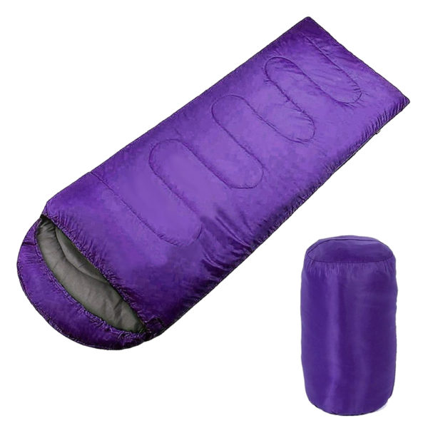 Adult Single Camping Waterproof Suit Case Envelope Sleeping Bag