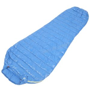 Aegismax M2 Lengthened Blue Wing Mummy Sleeping Bag Ultralight White Goose Down Outdoor Camping Hiking Saco de dormir 200cm*86cm