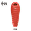 Black Ice Upgrade B700 Mommy Black/Blue/ Orange Splicing  Ultra-Light Autumn Spring Adult Outdoor WaterproofDown Sleeping Bag 2
