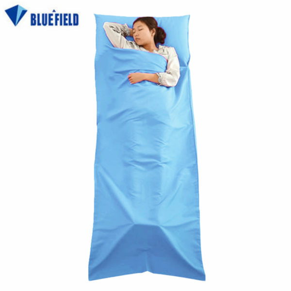 Bluefield Ultralight Outdoor Sleeping Bag Liner Polyester Pongee Portable Single Sleeping Bag Camping Travel Sleeping Bag
