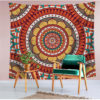 Colorful Mandala Tapestry Multifunction Beach Towel Blanket Tablecloth Bed Sheet For Party Supplise 6 style Free Ship 2
