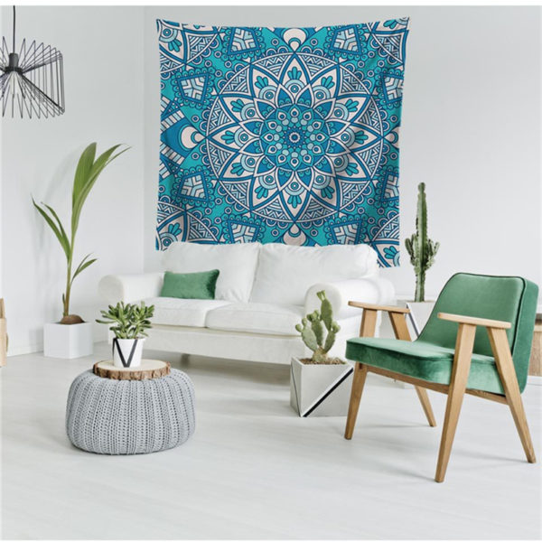 Colorful Mandala Tapestry Multifunction Beach Towel Blanket Tablecloth Bed Sheet For Party Supplise 6 style Free Ship