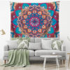 Colorful Mandala Tapestry Multifunction Beach Towel Blanket Tablecloth Bed Sheet For Party Supplise 6 style Free Ship 5