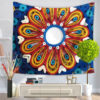 Delicate Wall Tapestry Multifunction Mandala Carpet Beach Blanket Tablecloth For Home Decoration Supplise 9 style Free Shipping 4