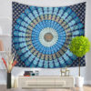 Delicate Wall Tapestry Multifunction Mandala Carpet Beach Blanket Tablecloth For Home Decoration Supplise 9 style Free Shipping 6