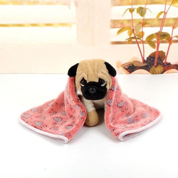 Dog Bed Bone Heated Mat Cat Flannel Rest Blanket Breathable Cushion Soft Warm Sleep Mats Mascotas Dog Pet Accessories XS,S,M