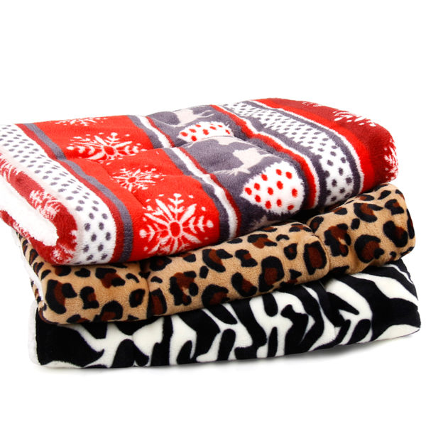 Dog Blanket Fleece Pet Blanket For Dogs And Cats Bed For Big Dogs Leopard Print Cat Mat Soft Cushion Warm Quilt Cotton Terry 15