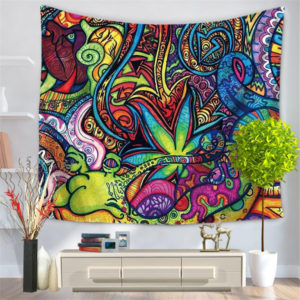 Ethnic Style Home Tapestry Multifunction Print Beach Towel Blanket Tablecloth For Party Decooration Supplise 7 Style Free Ship