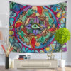 Ethnic Style Home Tapestry Multifunction Print Beach Towel Blanket Tablecloth For Party Decooration Supplise 7 Style Free Ship 6