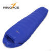 Fill 400G 600G 800G WINGACE ultralight duck down camping outdoor tourists waterproof mummy fall Travel sleep adult sleeping bags 3