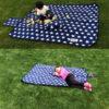 Foldable Outdoor Camping Mat Pad Picnic Mat Pad Blanket Baby Climb Plaid Blanket Waterproof Moistureproof Beach Blanket Mat 4