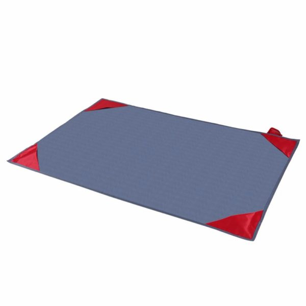 Foldable Waterproof Camping Mat Outdoor Mini Beach Picnic Blanket Rug Activities Pocket Size Camping Mat Cloth