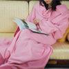 Home Winter Warm Fleece Mermaid Blanket Kids Throw Bed Wrap Super Soft Sleeping Bed Blanket Robe Cloak With Sleeves 4 Colors 4