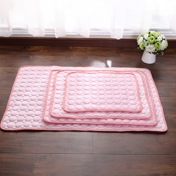 Hoomall Summer Cooling Mats Blanket Ice Pet Dog Bed Sofa Portable Tour Camping Yoga Sleeping Mats For Dogs Cats Pet Accessories