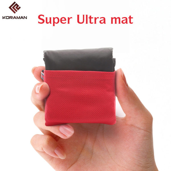 KORAMAN brand portable ultra-thin folding camping pad pocket blanket camping waterproof blanket outdoor picnic mat free beachmat