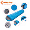 KingCamp Mummy Cotton Sleeping Bag Waterproof Ultralight Outdoor Lazy Bag Camping Travel Hiking Adult Sleeping Bags 3 Season 3