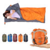 LIXADA 190*75cm Envelope Sleeping Bag Adult Camping Outdoor Mini Walking beach Sleeping Bags Ultralight Travel Bag Spring Autumn 4