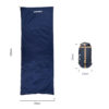 LIXADA 190*75cm Envelope Sleeping Bag Adult Camping Outdoor Mini Walking beach Sleeping Bags Ultralight Travel Bag Spring Autumn 5