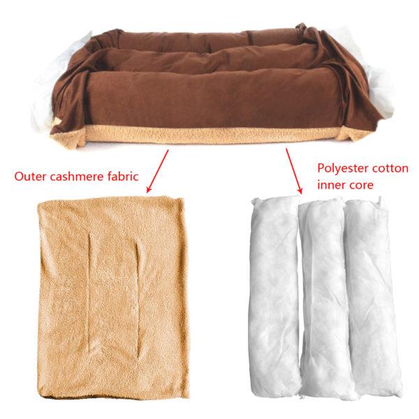Large Dog Bed Warm Pet Puppy House Cushion Soft Kennel Nest Sofa Mat Blanket For Medium Large Dogs Golden Retriever Labrador Big