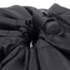 Lightweight Nylon Compression Stuff Sack Bag Waterproof Outdoor Camping Small Sleeping Bag Black Drawstring Bag 43 * 23 * 23cm 6