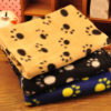 Lovely Pets Mat Design Paw Print Soft Warm Fleece Pet Blanket Dog Cat Mat Puppy Bed Sofa 5