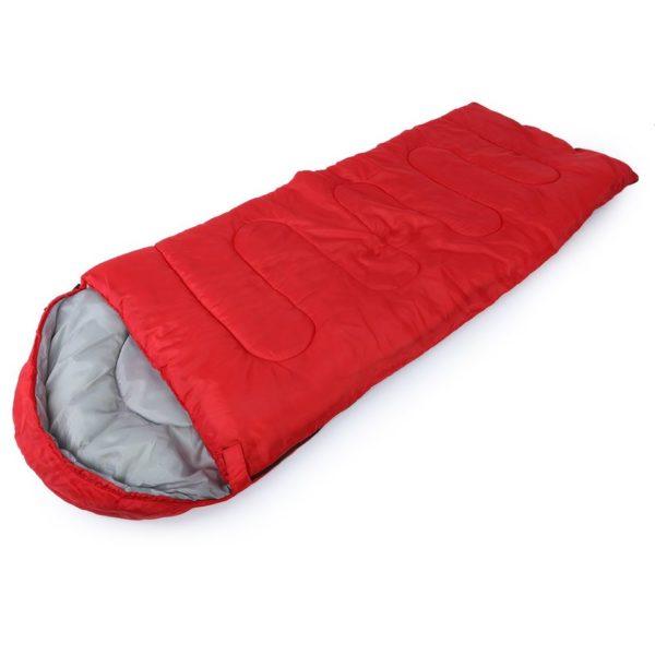 Multifuntional Outdoor Thermal Sleeping Bag Envelope Hooded Travel Camping Keep Warm Water Resistant Sleeping Bags Lazy Bag