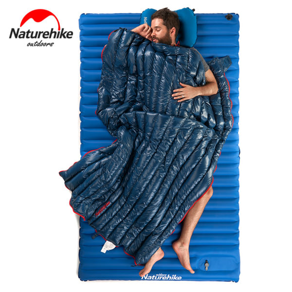 NatureHike Ultralight Envelope Sleeping Bag Goose Down Lazy Bag Camping Sleeping Bags 570g NH17Y010-R