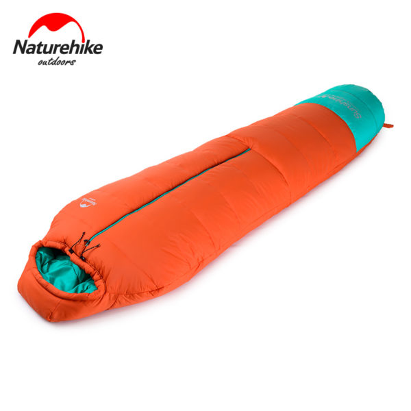 Naturehike 0 Degrees Lightweight Mummy Sleeping Bag Outdoor Camping   Portable Cotton Sleeping Bag NH17S013-D