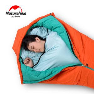Naturehike New Mummy Style Sleeping Bag Linner High Elastic Fiber Softable Portable Sleeping Bags for Spring Autumn Outdoor