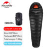 Naturehike New Outdoor Duck Down Sleeping Bag Mummy Sleeping Bag Winter Sleeping Bag NH15D800-K 5