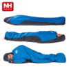 Naturehike Outdoor Professional Mummy Sleeping Bag Hiking Warm Lightweight Compact 3-4 Season For Adult/Child With Carry Bag 3