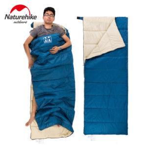 Naturehike Ultralight  Portable Envelope Cotton Sleeping Bag NH15A150-D