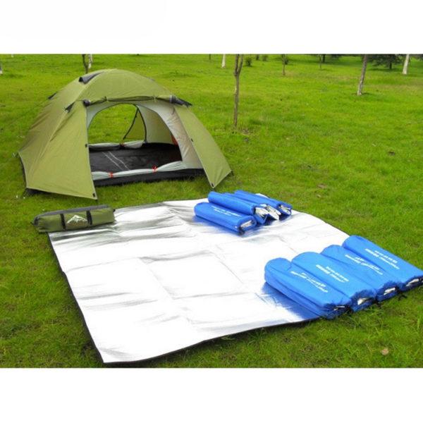 Outdoor Camping Mat Waterproof EVA Mat Picnic Mattress Tent Ground Sheet Sport Yoga Blanket Baby Crawling Mat 200*200*0.3 CM