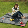 Outdoor Camping Portable Folding Pocket Compact Garden Moistureproof Pad Blanket Waterproof Ultralight Picnic Mat 5